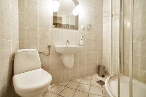 Łazienka w pokoju E-Stay